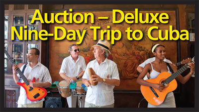 Auction – Deluxe Nine-Day Trip to Cuba